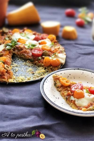 Pizza na spodzie z cukinii – zdrowy obiad