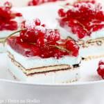 PORZECZKOWA PIANKA – ciasto bez pieczenia