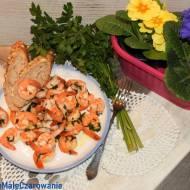 Gamberoni in guazzetto - krewetki w potrawce