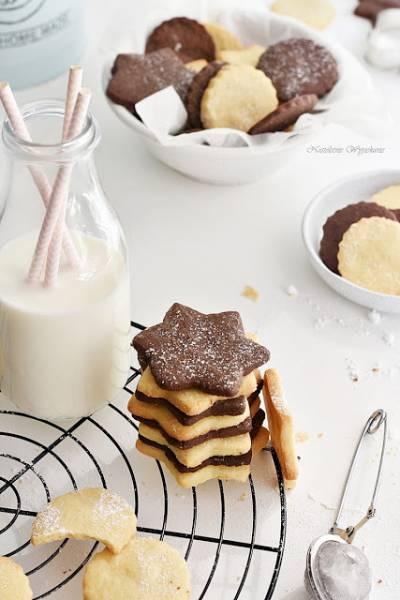 Najzwyklejsze kruche ciasteczka maślane