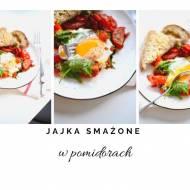 Jajka smażone w pomidorach