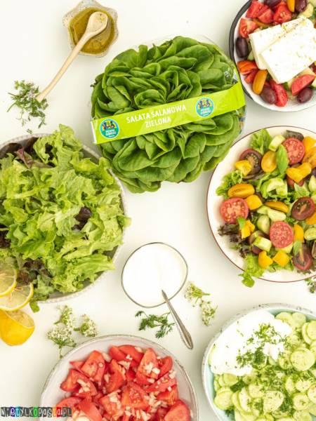 5 tradycyjnych sałatek do obiadu