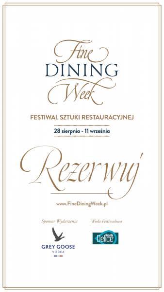 Restauracja Isto i Fine Dining Week