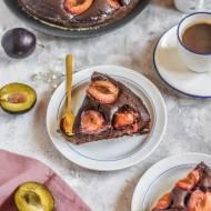 Najlepsze ciasto czekoladowe ze śliwkami