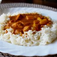 Kurczak curry według przepisu z YT + filmik