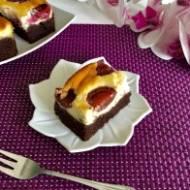 Ciasto cielaczek ze śliwkami