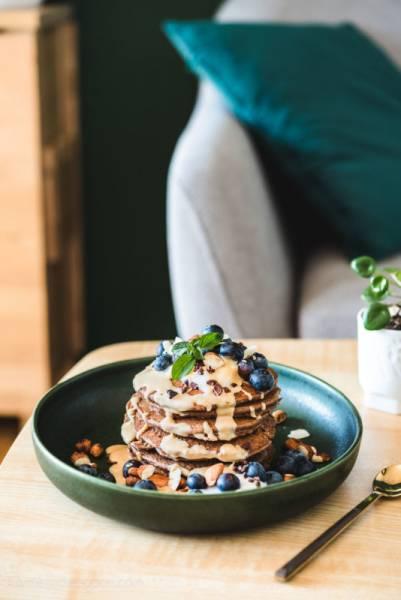 Czekoladowe placuszki jaglane – najprostsze placki z mąki jaglanej