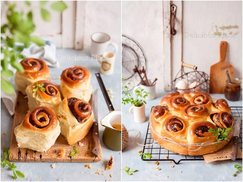 Odrywane ślimaczki z nadzieniem kawowym / Detached snails stuffed with coffee