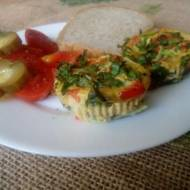 Mini omleciki z warzywami
