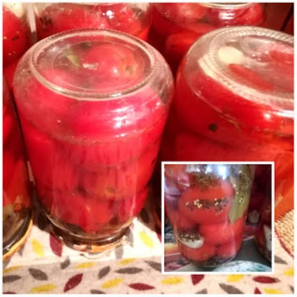 Smaczne pomidory na zimę