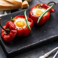 Jajka w papryce