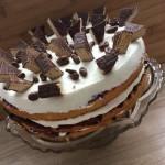 Ekspresowy tort śmietanowo-owocowy