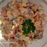 Sałatka ziemniaczana z kiełbasą żywiecką