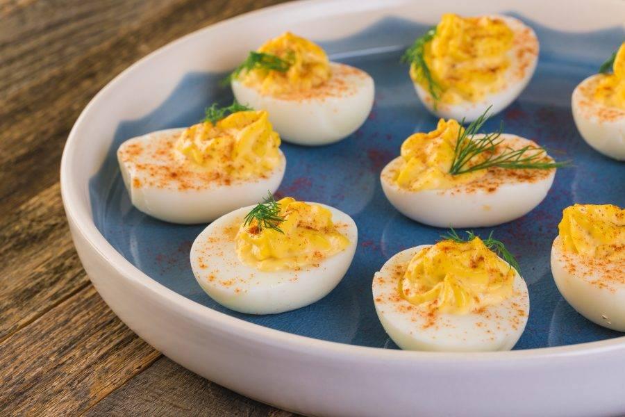 Jajka faszerowane żółtkiem