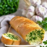 Bagietki z masłem czosnkowo-pietruszkowym