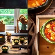 Krupnik ze świeżymi pomidorami