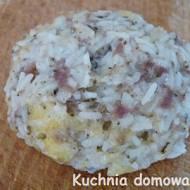 Kule mięsno-ryżowe