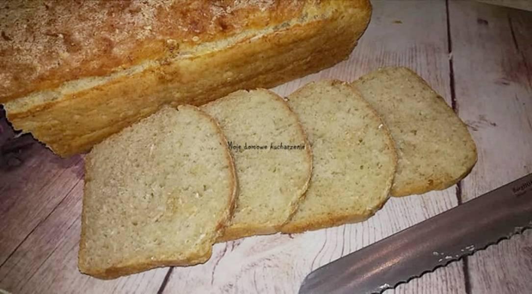 Chleb z płatkami owsianymi