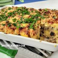 Zapiekanka ziemniaczana -pyszny obiad do syta