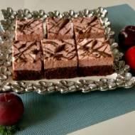 Ciasto czekoladowa śliwka