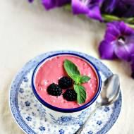 Jogurt owocowy z miętą