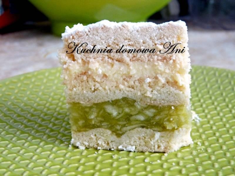 Ciasto z jabłkami i serem
