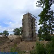Ruiny zamku w Starej Kamienicy woj. dolnośląskie