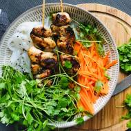 Wtorek: Wietnamskie noodle z cytrynowym kurczakiem