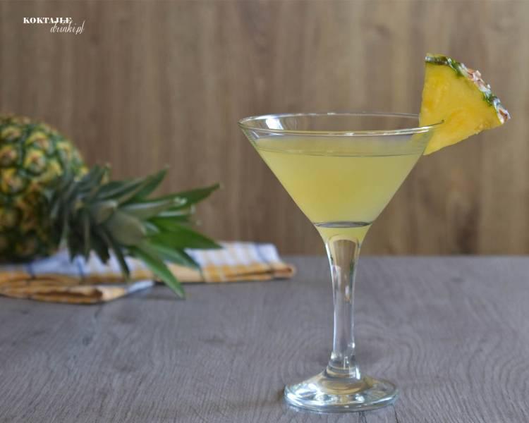 Havana Beach - ananasowy drink z nutką kwasku cytryny