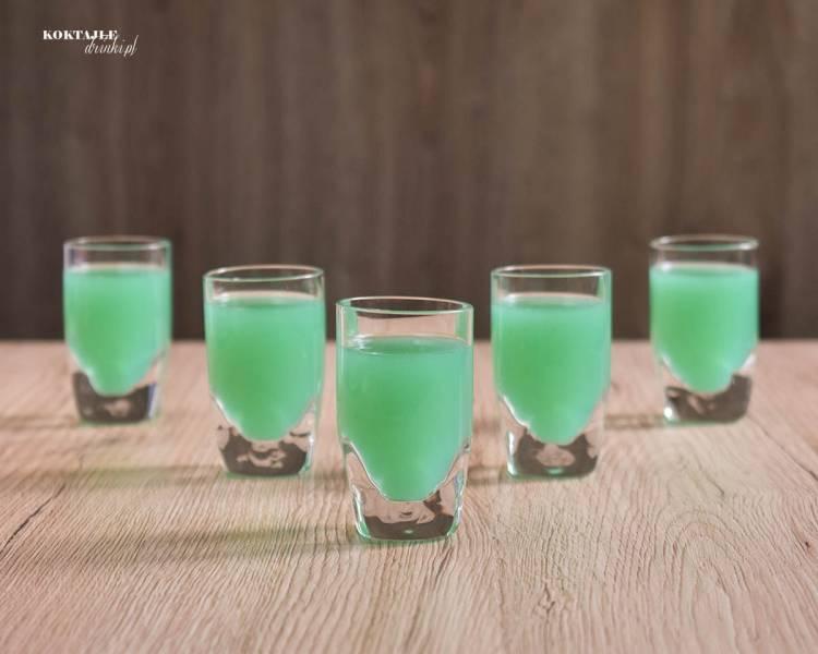 Zielona Ropucha - przepis na zielony shot