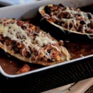 Meksykańskie danie z mięsem i warzywami