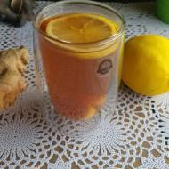 Herbatka imbirowa z miodem