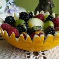 Sałatka owocowa z likierem