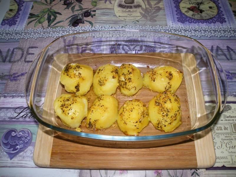 Zapiekane ziemniaki z kukurydzą