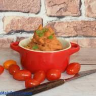 Pasta z kaszy jaglanej z suszonymi pomidorami