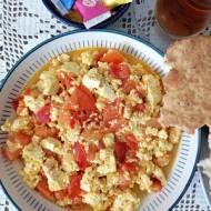 Azerbejdżan - Tofucznica z pomidorami
