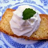 Ciasto cytrynowe podwójnie cytrynowe