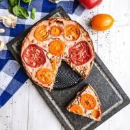 Tarta z cukinią i pomidorami na bezglutenowym kruchym spodzie