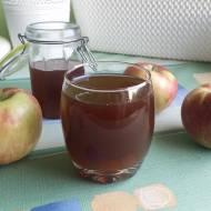Korzenny syrop/sok ze skórek jabłkowych