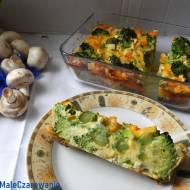 Brokuły zapiekane z jajami