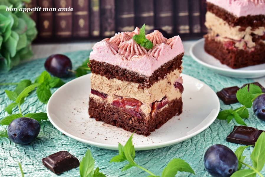 Ciasto czeko-śliwka