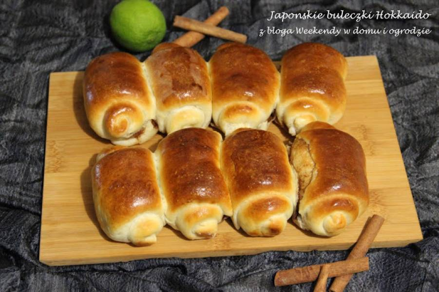 Japońskie bułeczki Hokkaido