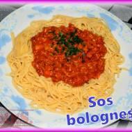 Włoski sos bolognese