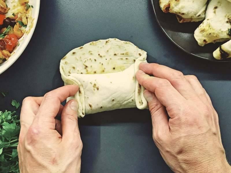 Piątek: Tortille carnitas