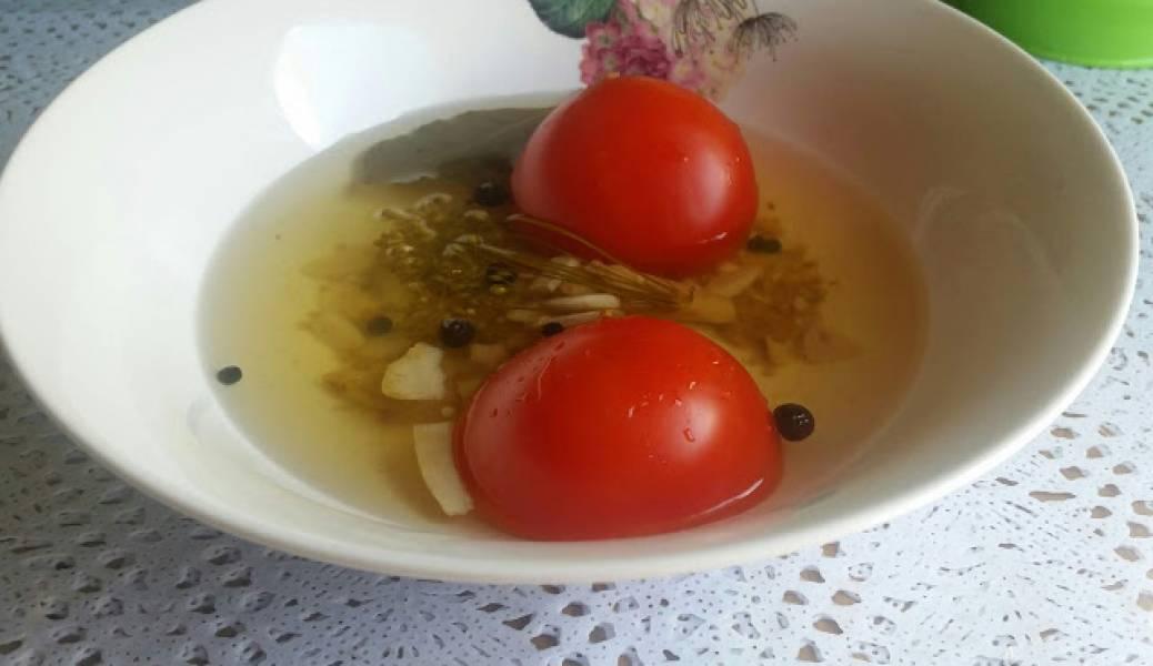 Pomidory w zalewie korniszonowej porada