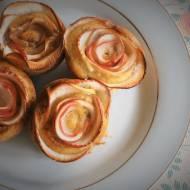 Keto mini różyczki z jabłek (Paleo, LowCarb)