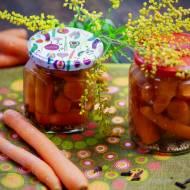 Marynowane marchewki
