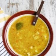 Zupa z soczewicy na schabie