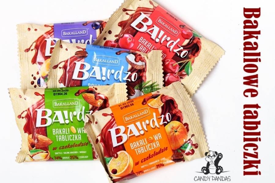 BA!rdzo Bakaliowe Tabliczki – Bakalland