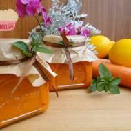 Marmolada marchewkowo-cytrusowa